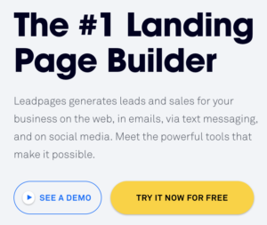 Leadpages Free Demo
